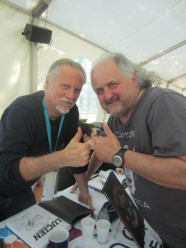 Frank Margerin et moi