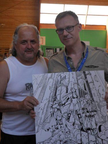 Jean-Luc Istin et moi