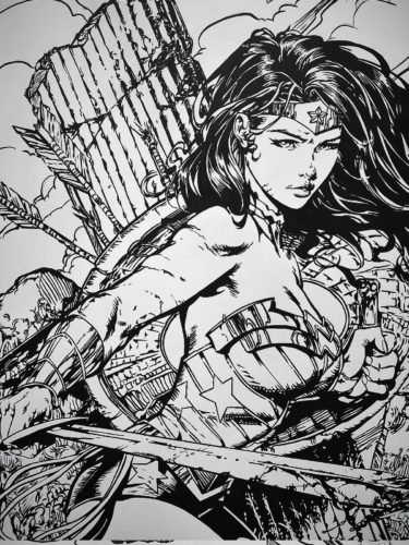 Wonder Woman par David Finch