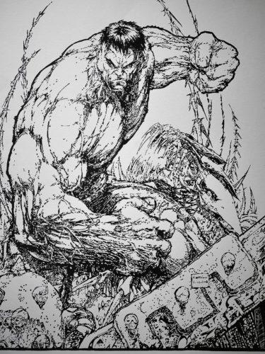 Hulk par Michael Turner