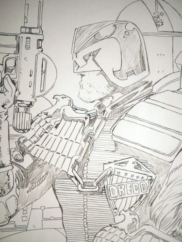 Judge Dredd - Barry KITSON
