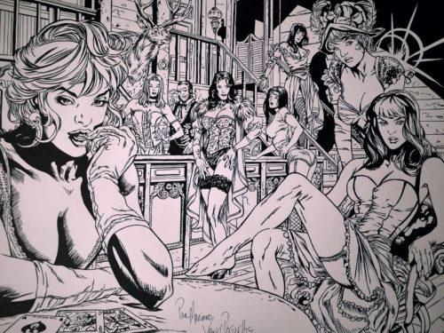 Hellfire Club par Yanick Paquette