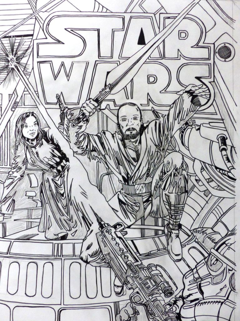 Commission dessin Star Wars