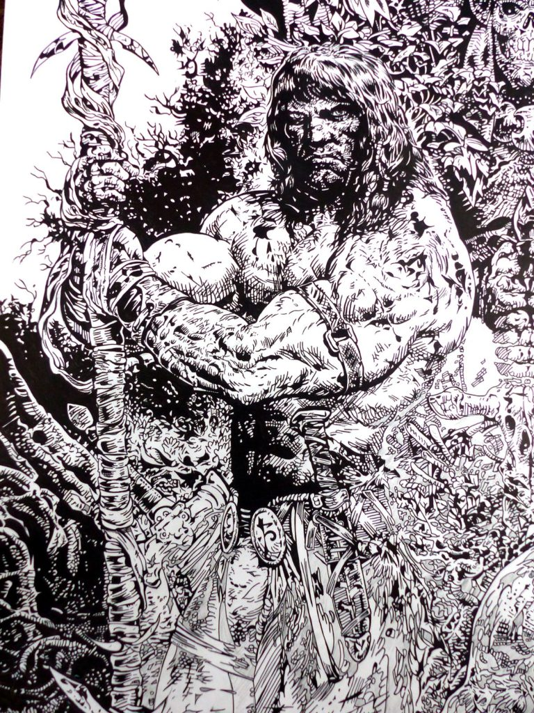 Conan par Liam Sharp