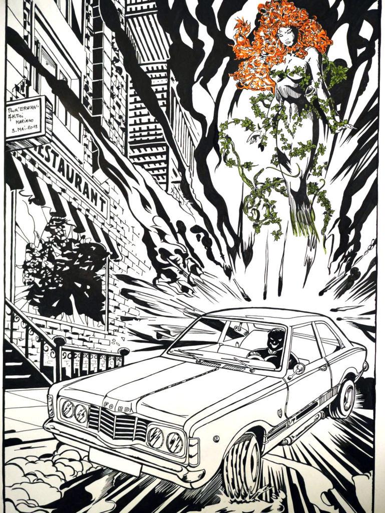 Ford Taunus 1973 - Encré