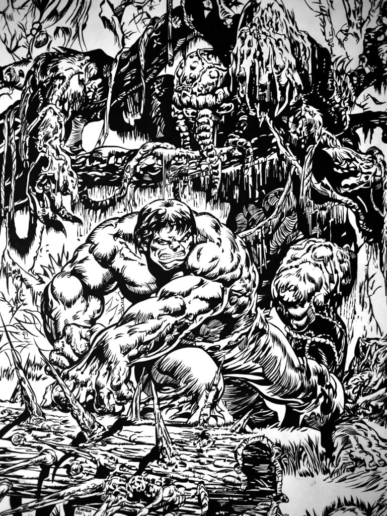 Hulk contre Man Thing