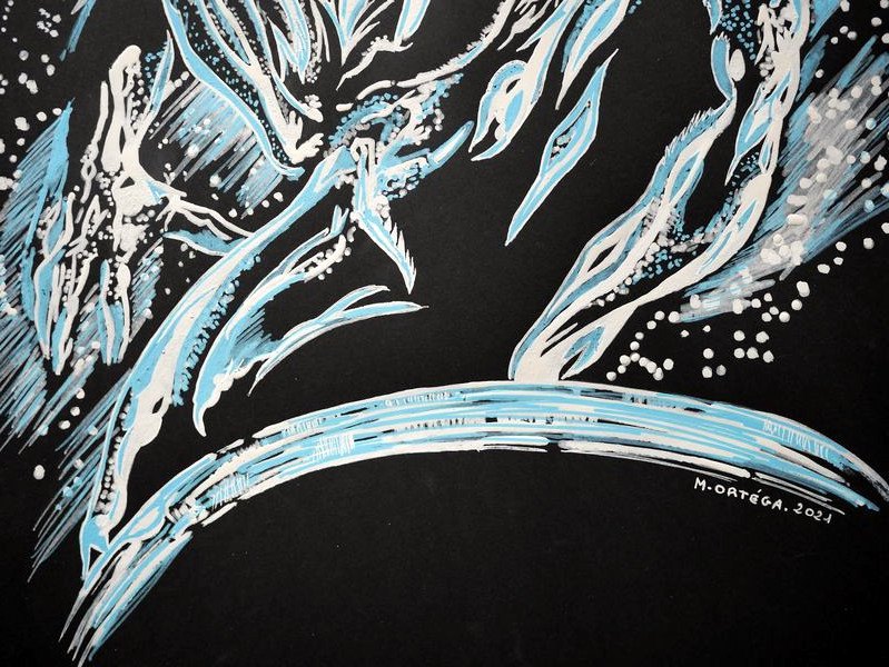 Silver Surfer - POSCA